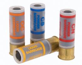 Municiones -12GA - Barricada líquido y polvo