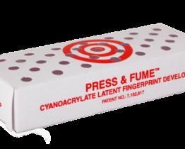 Press & Fume™ cianoacrilato para huellas latentes