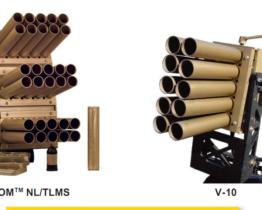 Sistema lanzador de munición no letal Venom y Serie V