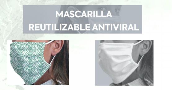 MASCARILLAS FPP2 REUTILIZABLES ANTIVIRAL